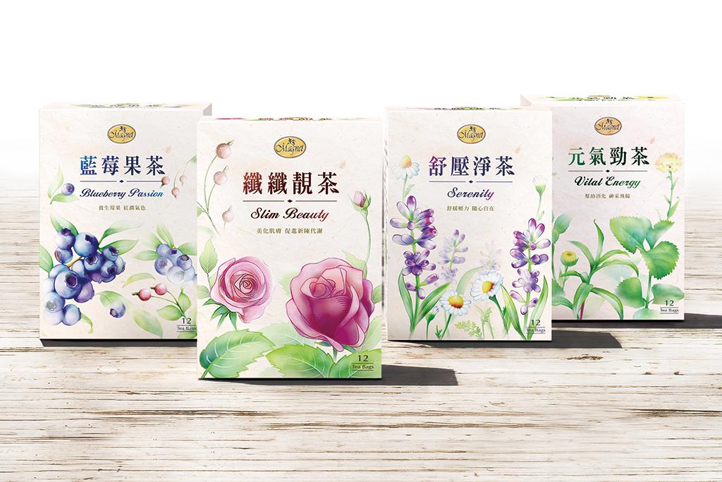 纖纖靚茶 包裝設計
