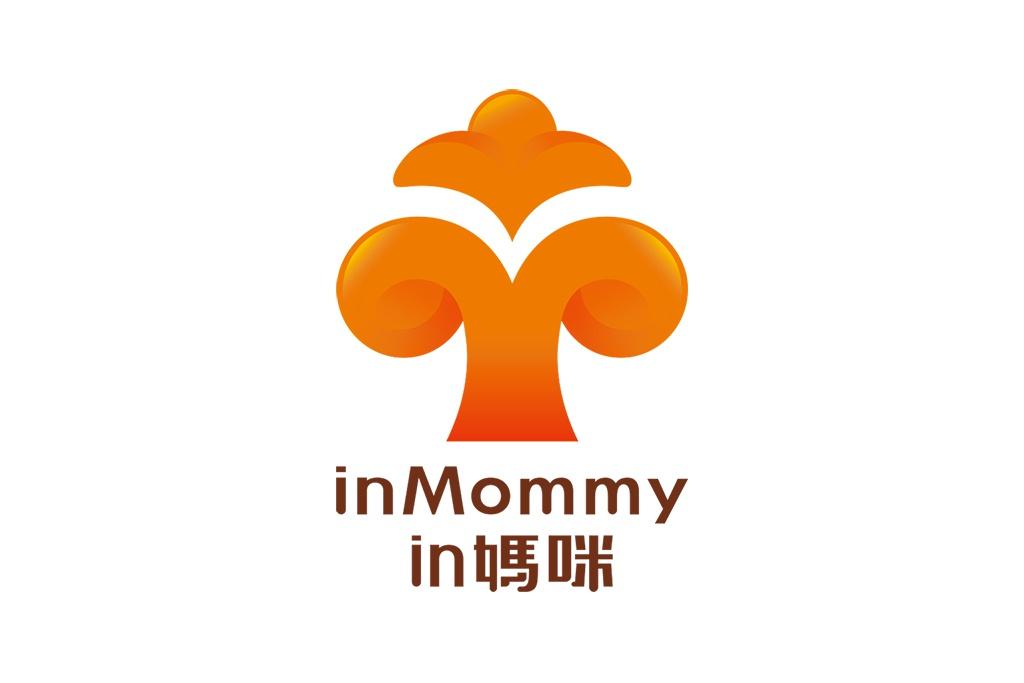 in媽咪 生活用品 logo設計